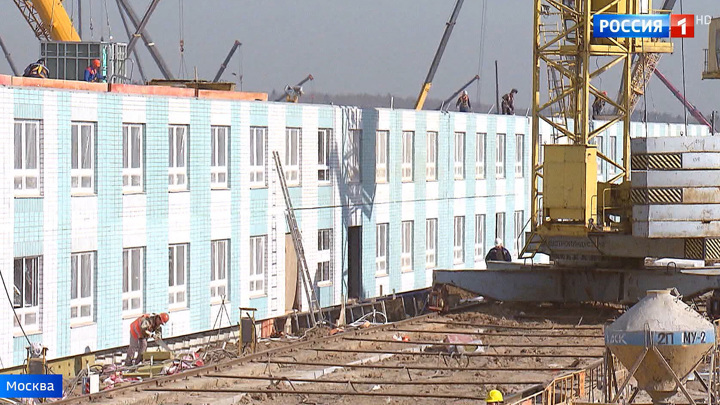 7 блоков инфекционной клиники в Новой Москве уже готовы