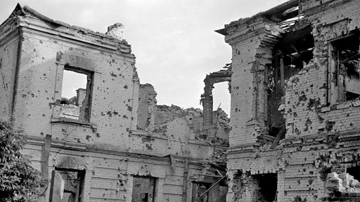 Брестская крепость. Старое фото