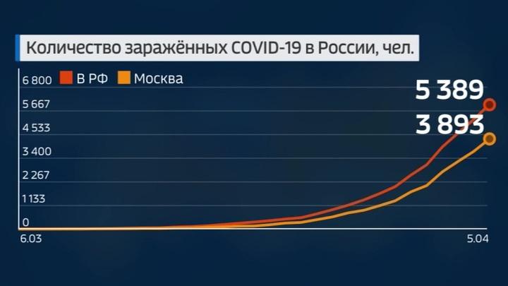 Коронавирус: новые данные по России