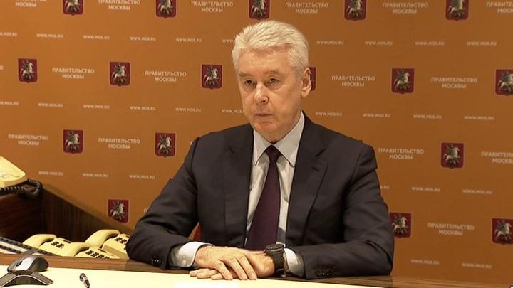 Собянин уточнил, как будет вводиться пропускной режим и что продолжит работать