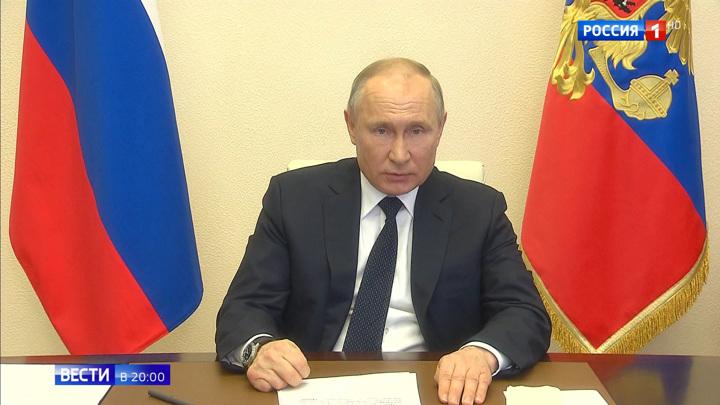 Путин: нужно проанализировать целесообразность используемых мер в регионах