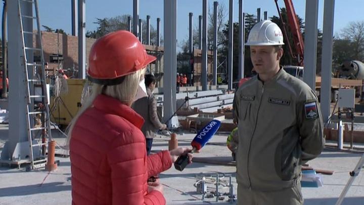 Строительство медцентра Минобороны в Севастополе завершат ко Дню Победы