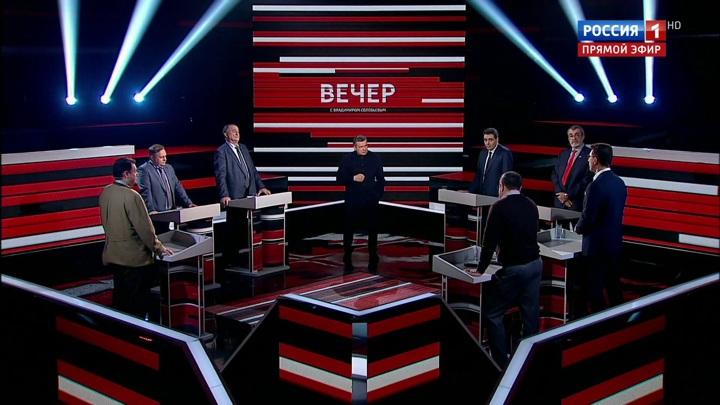 Вечер с Владимиром Соловьевым. Эфир от 15 апреля 2020 года