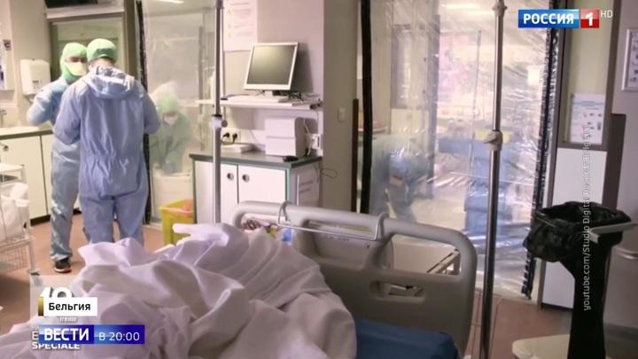 В Бельгии растет кривая смертности в домах престарелых