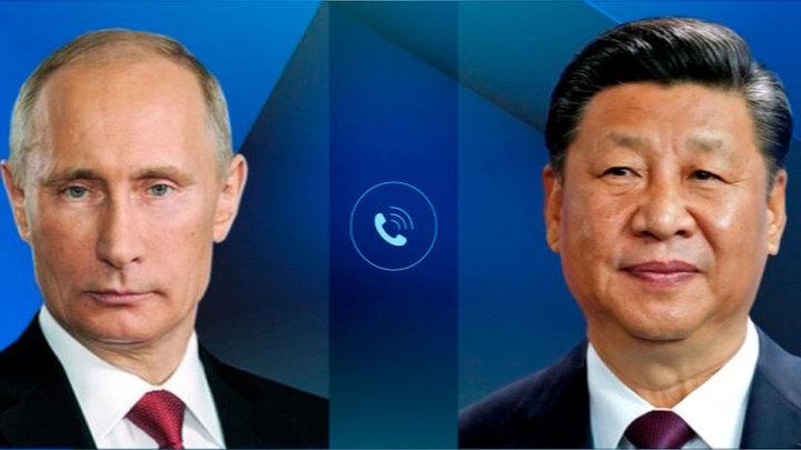 Путин в телефонном разговоре с Си Цзиньпином обсудил ситуацию в Афганистане