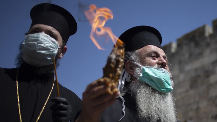 Благодатный огонь не будут раздавать во Внуково из-за пандемии