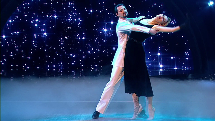 """Кадр из программы """"Танцы со звездами. Новый сезон"""""""
