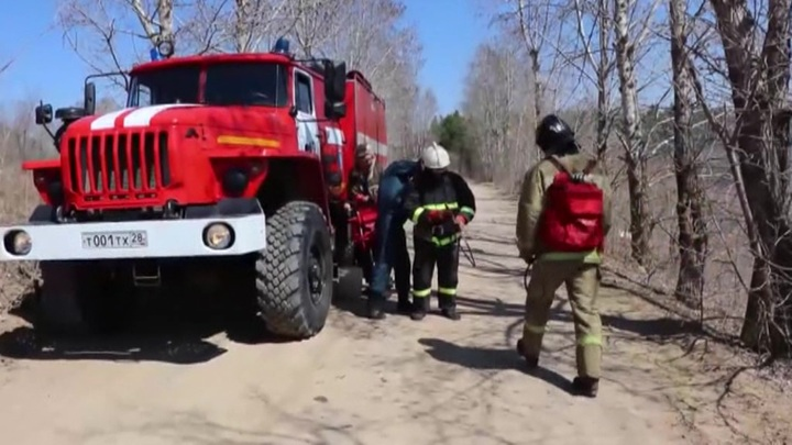 Группировку авиапожарных в Забайкалье увеличили вдвое