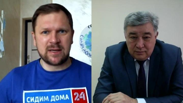Юрий Кикенов о важных моментах при лечении больных COVID-19 и переоборудовании больниц