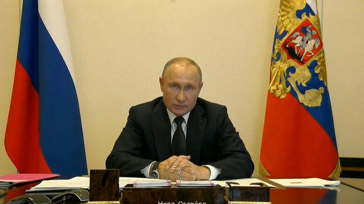 Путин о мобилизации производства