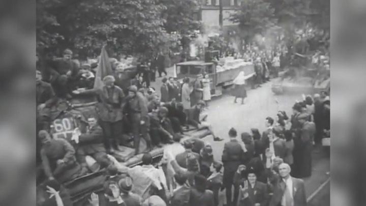 Капитуляция Германии, подвиг Спартака Маковского, советско-чехословацкое соглашение