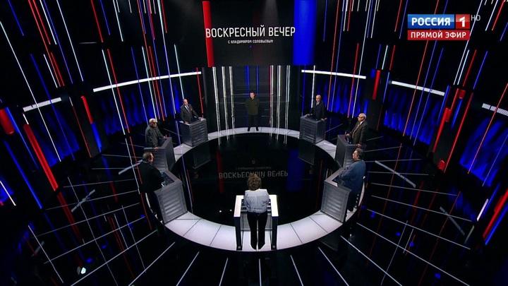 Вечер с Владимиром Соловьевым. Эфир от 10 мая 2020 года