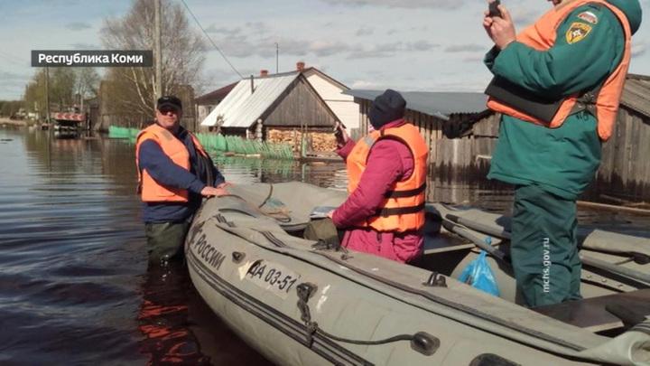 В России обострилась паводковая ситуация
