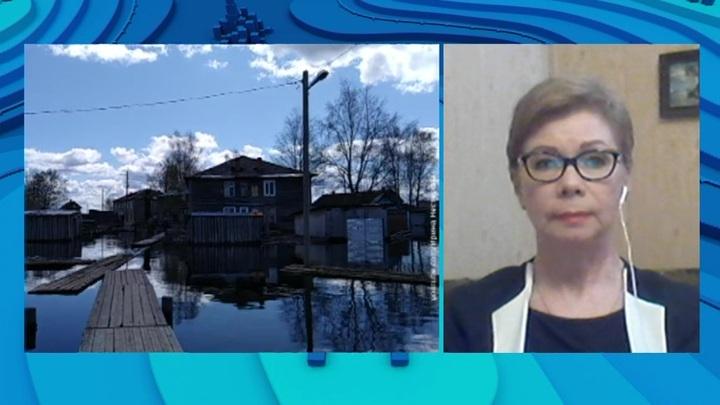 """""""Погода 24"""": в трех районах республики Коми введен режим ЧС из-за угрозы паводка"""