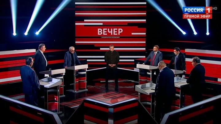 Вечер с Владимиром Соловьевым. Эфир от 18 мая 2020 года