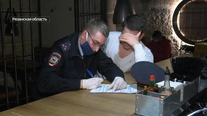 В Рязани вечеринку комиков и чиновников сорвали полицейские