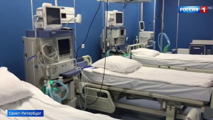Петербург занимает третье место по числу заболевших COVID-19 в России