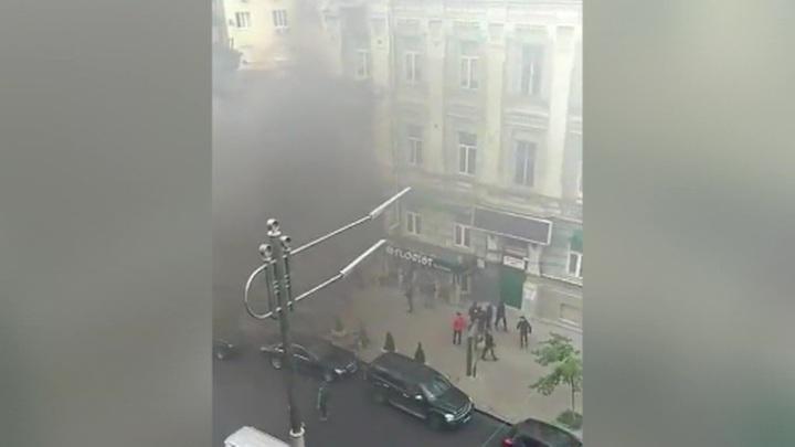 У офиса Медведчука прогремел взрыв