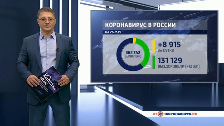 174 человека: Россия достигла высшего показателя умерших от COVID-19