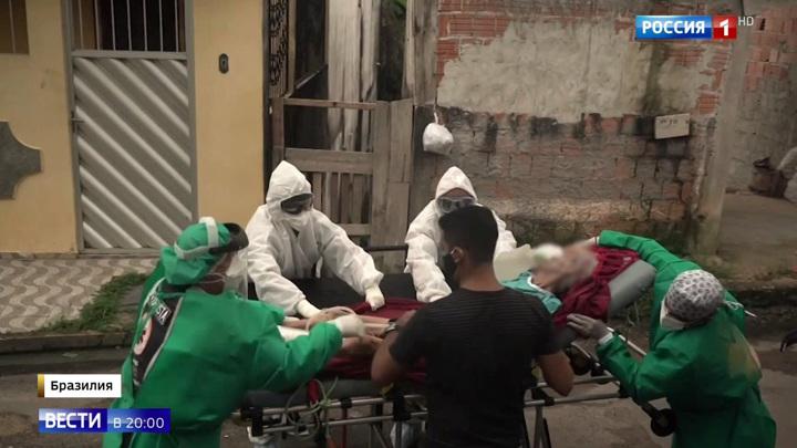 Бразилию захлестнула пандемия, а президент переругивается с губернаторами
