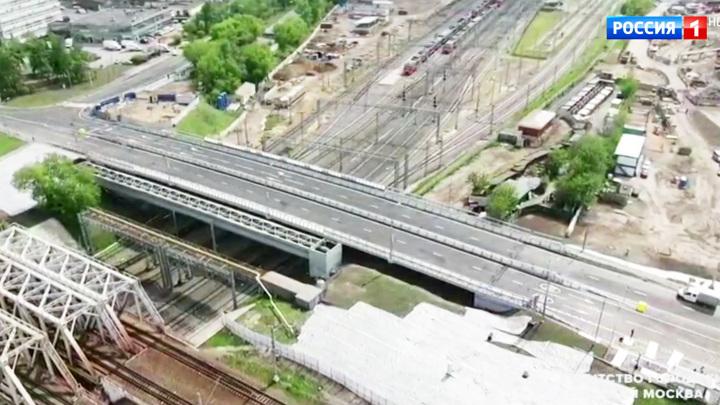 Лефортово и Нижегородский стали ближе: открыт новый путепровод через пути МЦК