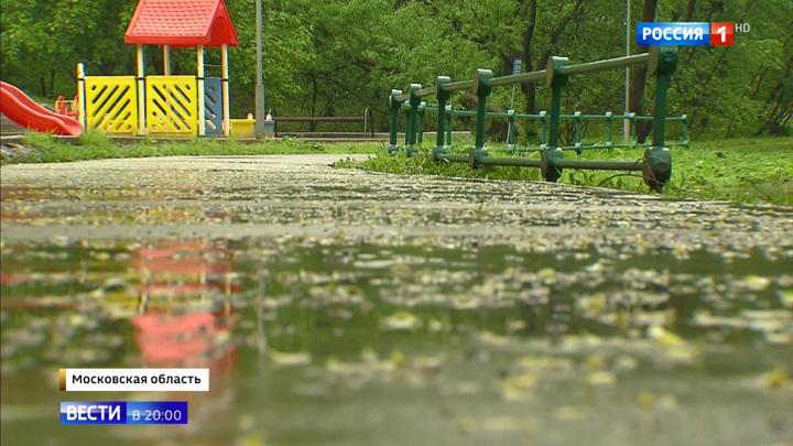 Проливные дожди в Москве побили рекорд за 70 лет
