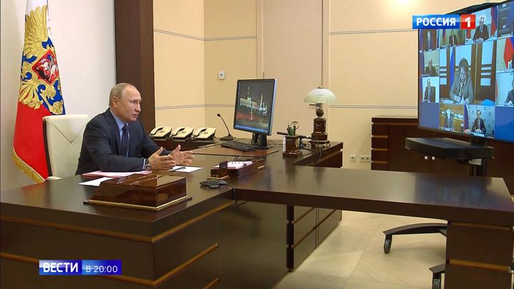 Путин указал на то, что поспешившие снять ограничения вводят их вновь