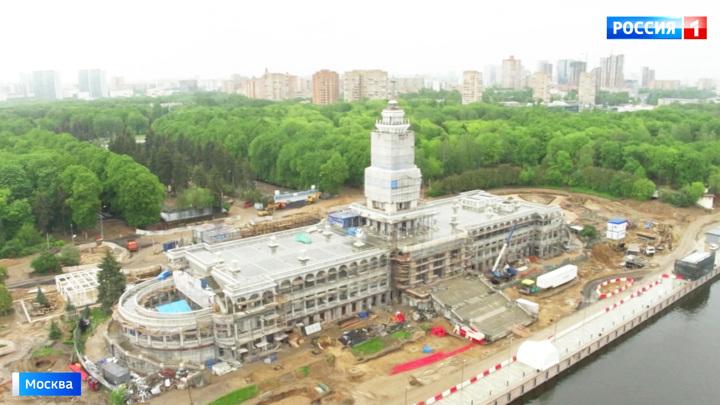Северный речной вокзал преобразится ко Дню города