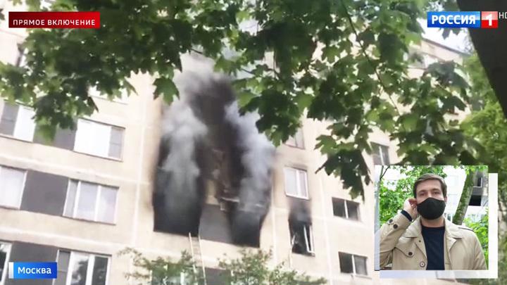 Пахло порохом: причиной взрыва в московской квартире могла стать пиротехника