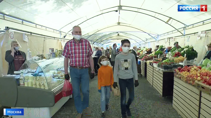 В столице вновь открыты ярмарки выходного дня