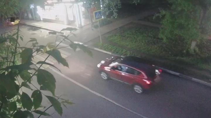 Невероятный угон машины Химках: ВИДЕО