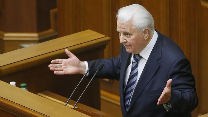 В России отреагировали на заявление экс-президента Украины