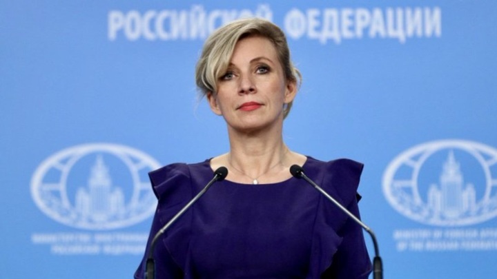 """Захарова: """"Американским дипломатам придётся объясняться на Смоленской площади"""""""