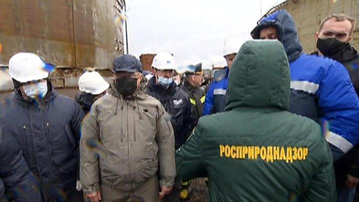 Спасательная операция для тундры: активная фаза сбора нефтепродуктов завершена