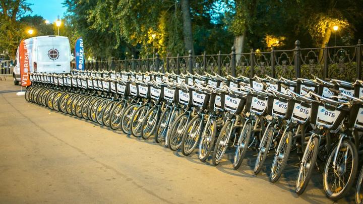 Сезон велопроката в Москве продлен до 30 ноября