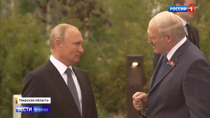 4 - Встреча Путина и Лукашенко подо Ржевом: эксклюзивные детали