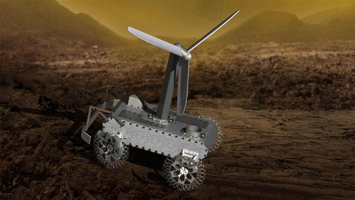 Механический ровер AREE будет использовать энергию ветра.