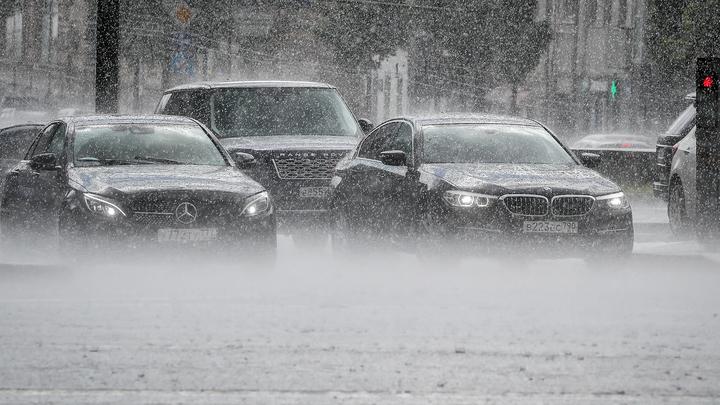 В Москве ожидаются рекордные осадки, похолодание и снег