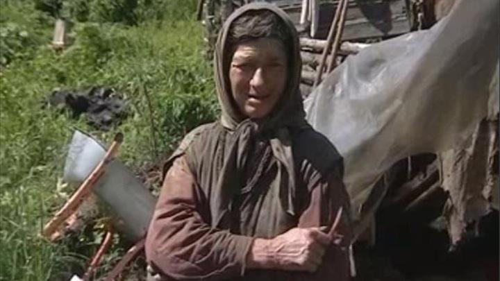 Помочь по хозяйству к Агафье Лыковой приехал племянник