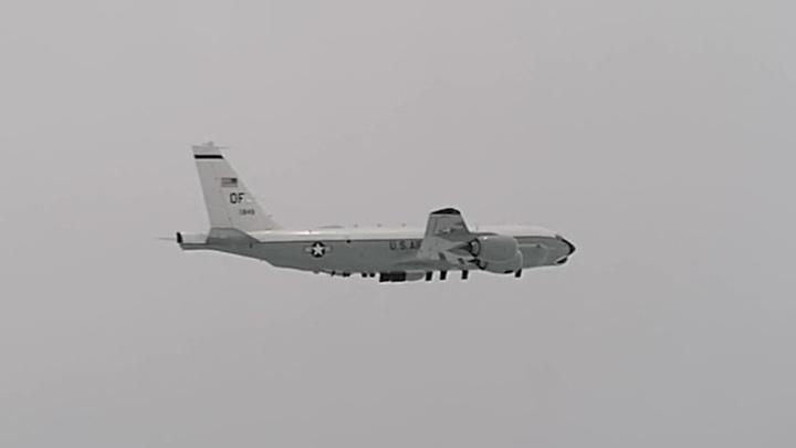 Российские истребители перехватили американского разведчика над Японским морем