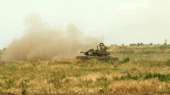 В Мулино стартовали учения танкистов ЗВО