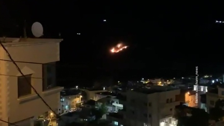 Армия Израиля атаковала объекты на юге Сирии