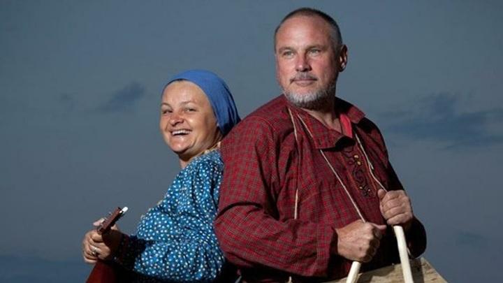 Ольга Лапшина и Сергей Старостин. Фото  Павла  Антонова