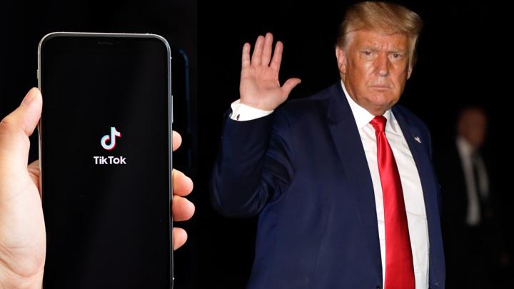 Трамп решил заблокировать TikTok на территории США