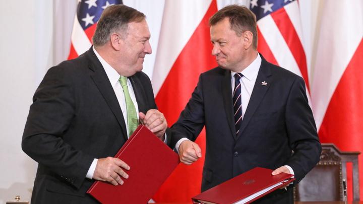 Подписан договор об американском военном присутствии в Польше