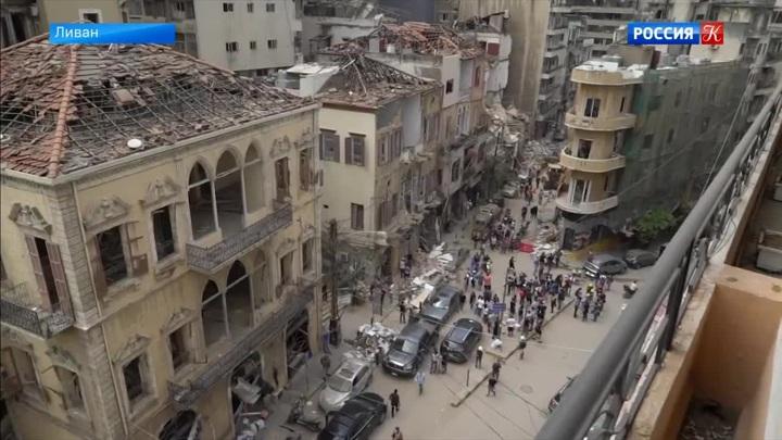 В Бейруте нашли тела двух погибших спустя месяц после взрыва