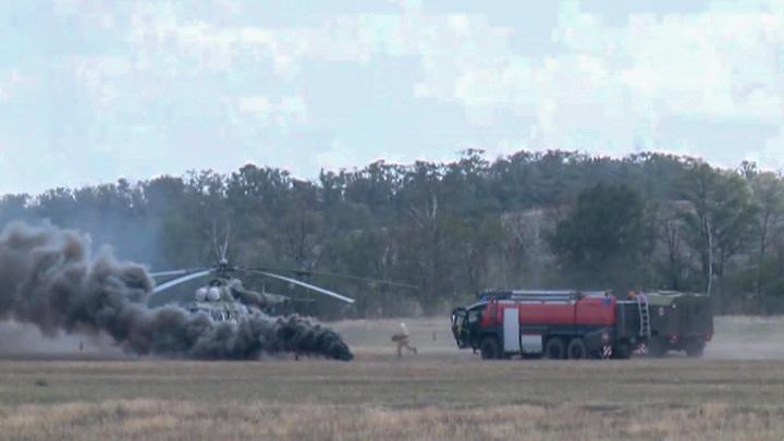 В Ростовской области проходят учения военных летчиков