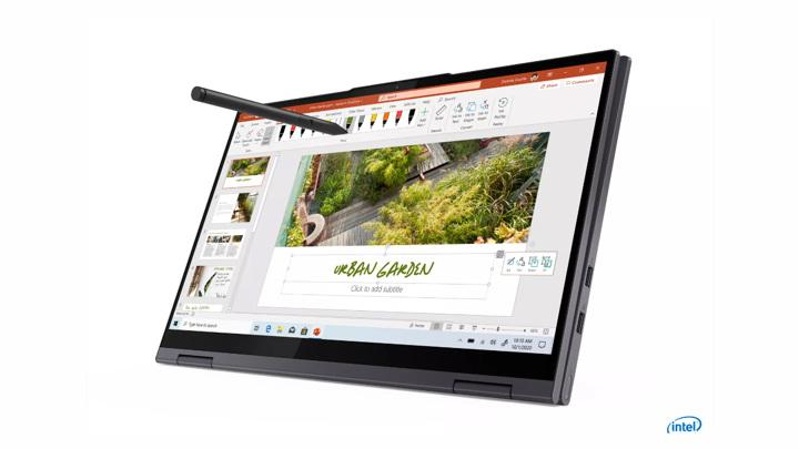 Lenovo показала ноутбуки-трансформеры Yoga с новейшими чипами Intel и AMD