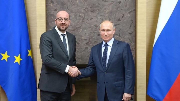 Как Мишель звонил Путину: рассказ Лукашенко