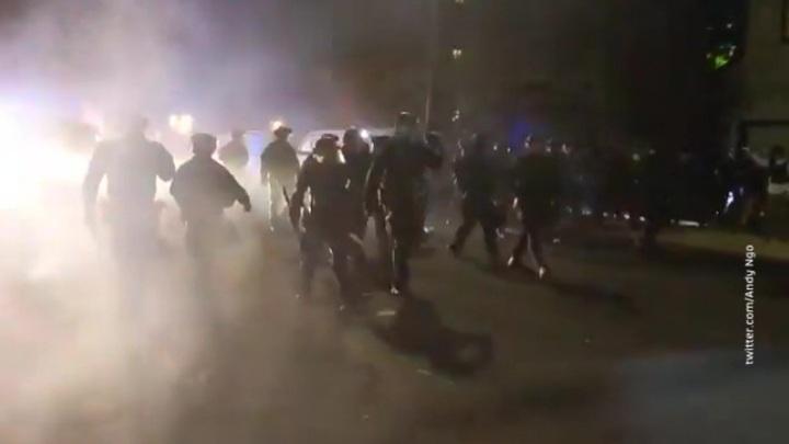 Беспорядки в Портленде объявлены бунтом